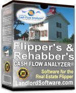 Flipper Rehabber Investment Analysis Software