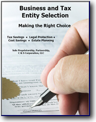Tax Entity Selection
