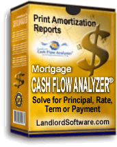 Mortgage Cash Flow Analyzer